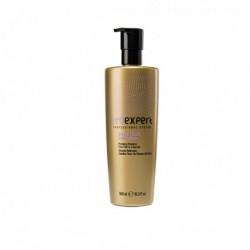 Шампунь для придания объема нормальным, тонким или ломким волосам с частицами золота и коллагеном, 500 мл.