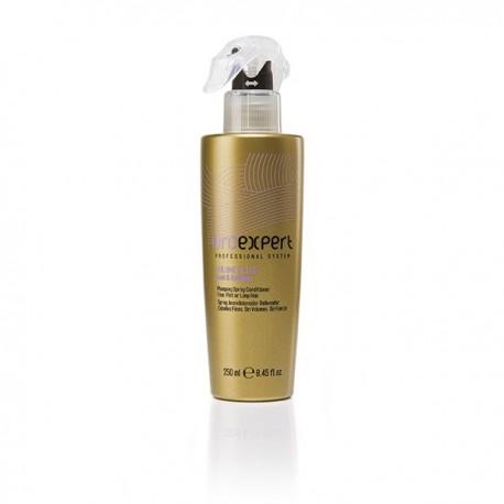 Спрей-кондиционер для придания объема нормальным, тонким или ломким волосам с частицами золота и коллагеном, 250 мл.