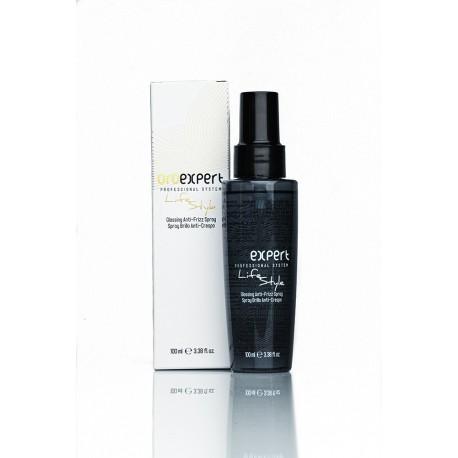 Спрей для укладки волос с защитой от влаги и УФ-лучей, с эффектом блеска, 100 мл.